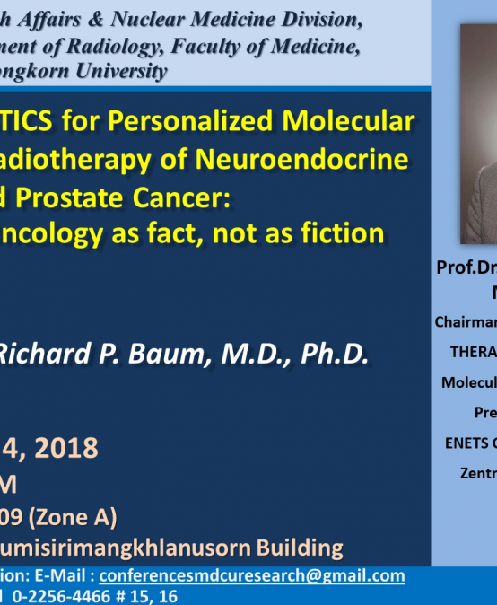 THERANOSTICS for Personalized Molecular Targeted Radiotherapy of Neuroendocrine Tumors and Prostate Cancer: Precision Oncology as fact, not as fiction