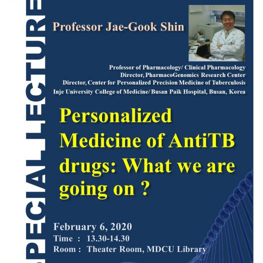 Personalized Medicine of AntiTB drugs: What we are going on ?